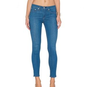 Rag & Bone Capri skinny jean crop light denim 25